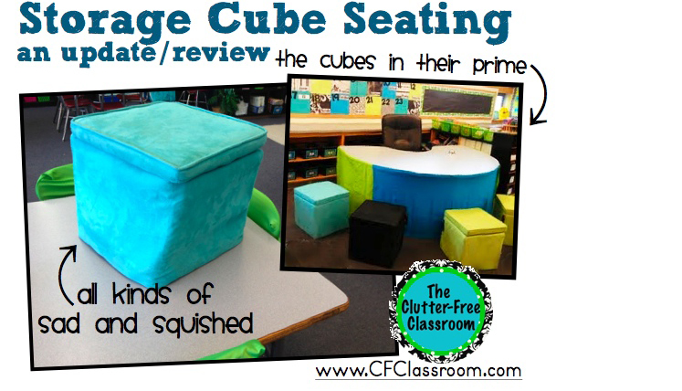 Exceptionnel Flexible Seating Ideas: A Teacheru0027s Experience With Storage Cube Ottomans