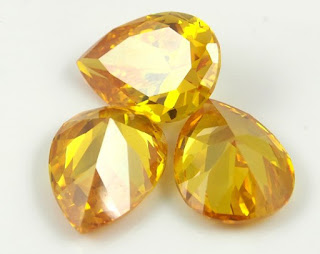 CZ-Golden-Yellow-4x6mm-Pear-Shaped-Gemstones--wholesale-China