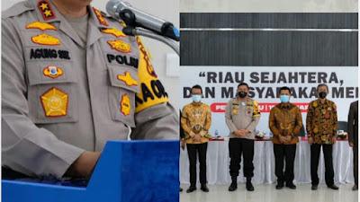 "Polda Riau Gagas Dialog Interaktif Bertema ""Riau Sejahtera, Polri Dan Masyarakat Menjaga"""