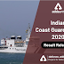 Indian Coast Guard Navik 2020 Result Released