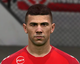 PES 2017 Faces Victor Cuesta by Judas