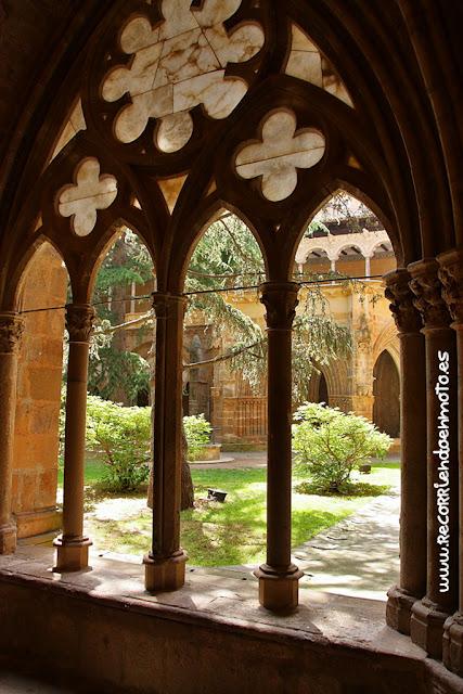 Arquería claustro monasterio Veruela