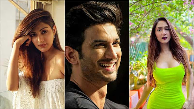 Sushant-Sing-Rajput's-friend-Krissann-Barretto-broke-silence-over-Rhea-Chakraborty