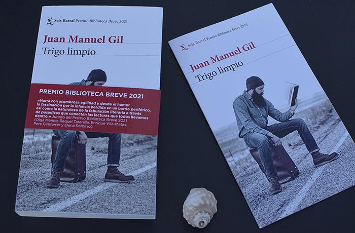 Premio Biblioteca Breve de Novela: «Trigo limpio» de Juan Manuel Gil