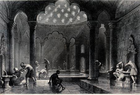 pemandian turki