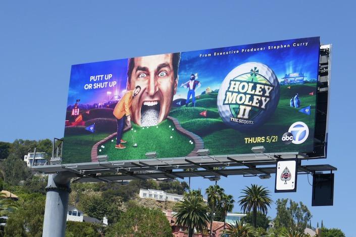 Holey Moley season 2 billboard