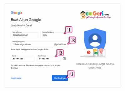 Cara Mudah Daftar Akun Gmail