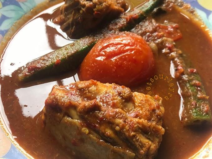 Resepi Asam Pedas Ikan Mayong Johor