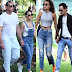 Jennifer Lopez reunited with Ex, Marc Anthony who came with his new girl, to cheer their in Miami.