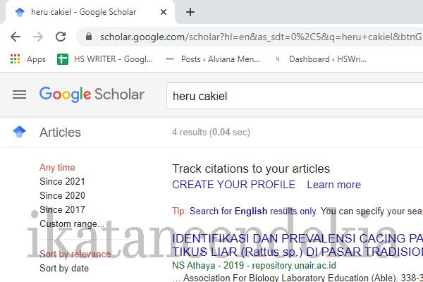 mengenal google scholar cendekia
