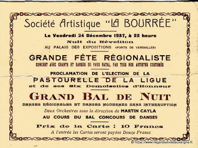 Société artistique La Bourrée