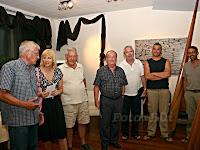 Petar Hranuelli, izložba skulptura u Postira otok Brač slike