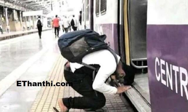தம்பி என்னப்பா செய்ற... மனதை தொட்ட சம்பவம் !