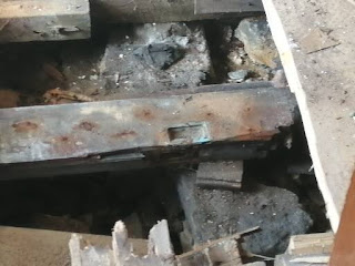 Dry rot under floors