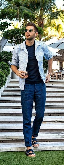 10 tendências de roupa de verão para homens