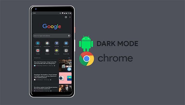 Cara Mengaktifkan Dark Mode (Mode Gelap) Di Aplikasi Chrome Android