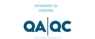 QA/QC Intern  tại Concung