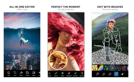 10 Aplikasi Kolase Foto (Photo Collage) Terbaik di Android - Aplikasi Kolase Foto Kekinian PicsArt Photo Editor 2