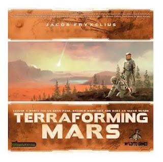 Terraforming Mars el juego de mesa