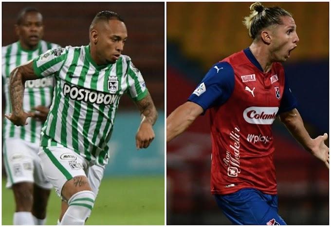 Definida programación de la tercera fecha de la Liga BetPlay 2 2021: Así jugarán Atlético Nacional e Independiente Medellín