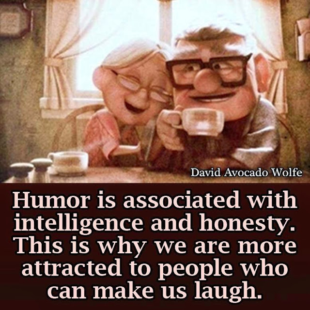 """humor intelligence honesty"""