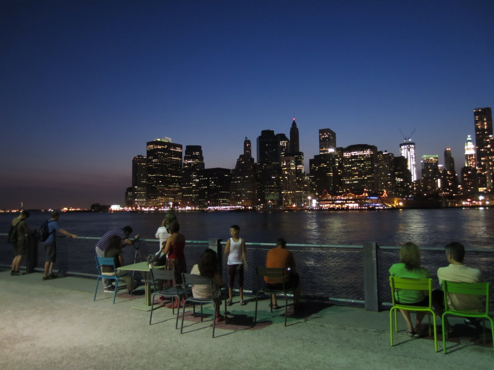 Pay A Visit Nighttime Comes To Brooklyn Bridge Park