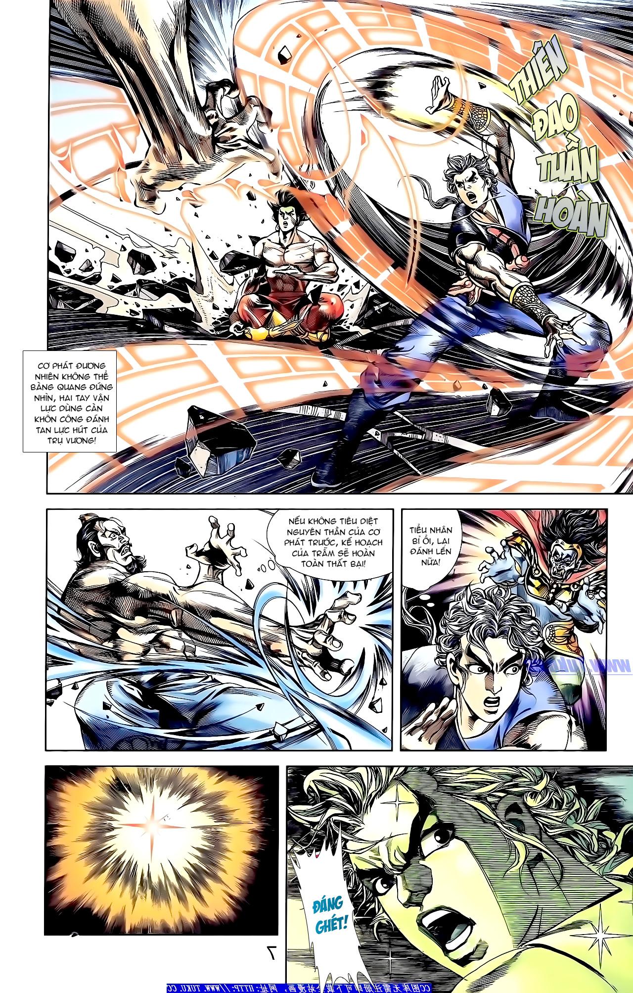 Cơ Phát Khai Chu Bản chapter 149 trang 8