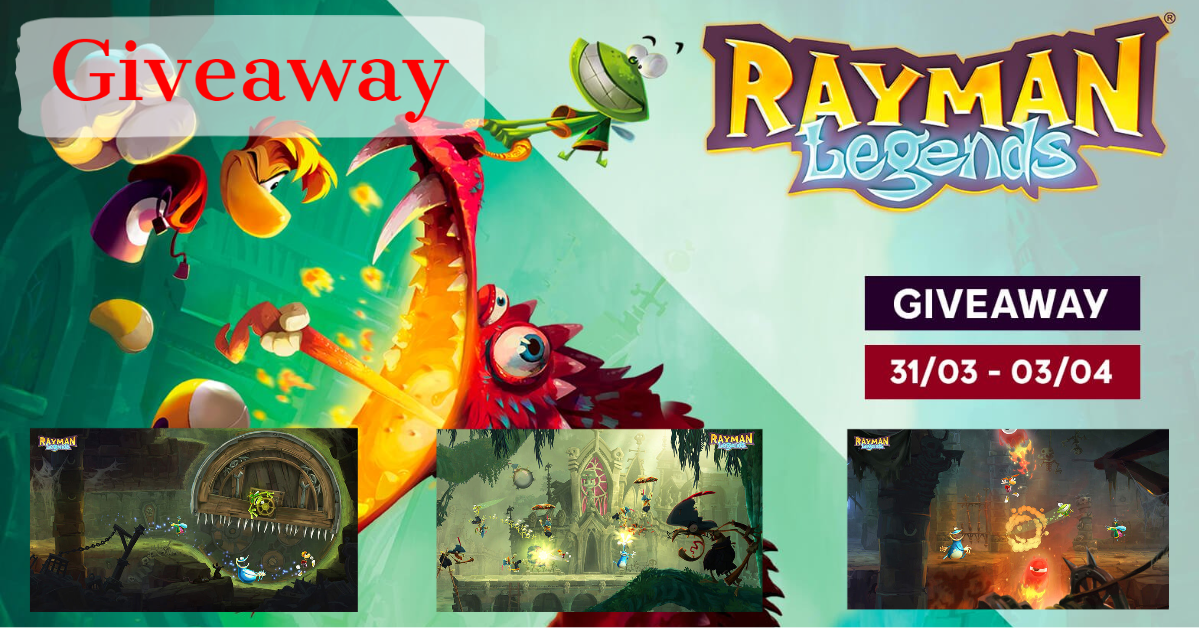 Giveaway: Rayman Legends on UPLAY
