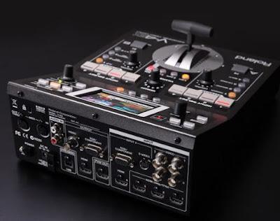 noleggio roland mixer video