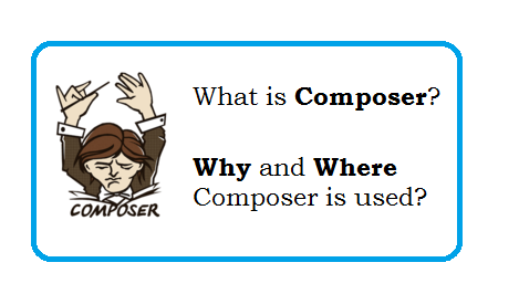 What is Composer in php? -  Manage the Dependencies