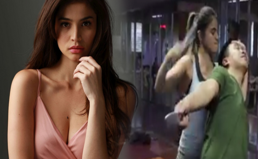 martial arts trainning of Anne Curtis