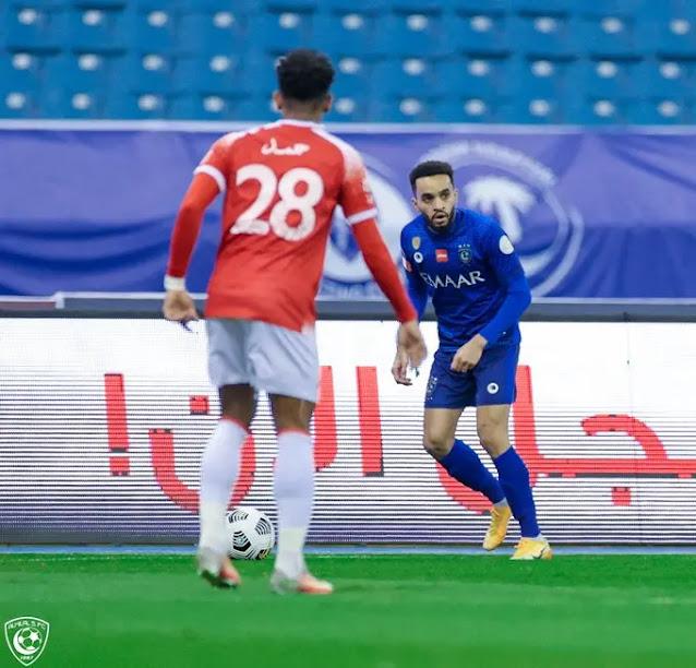 فوز الوحدة على الهلال في الجولة الثامنة من الدوري السعودي