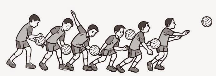 Teknik Dasar Cara Melakukan Servis Bawah Dan Servis Atas Pada Olahraga Bola Voli