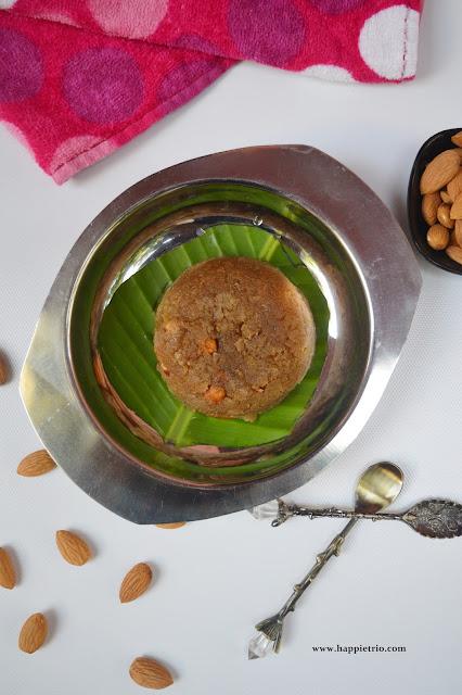 Instant Wheat Halwa Recipe | Easy Atta ka Sheera | Godhumai Halwa