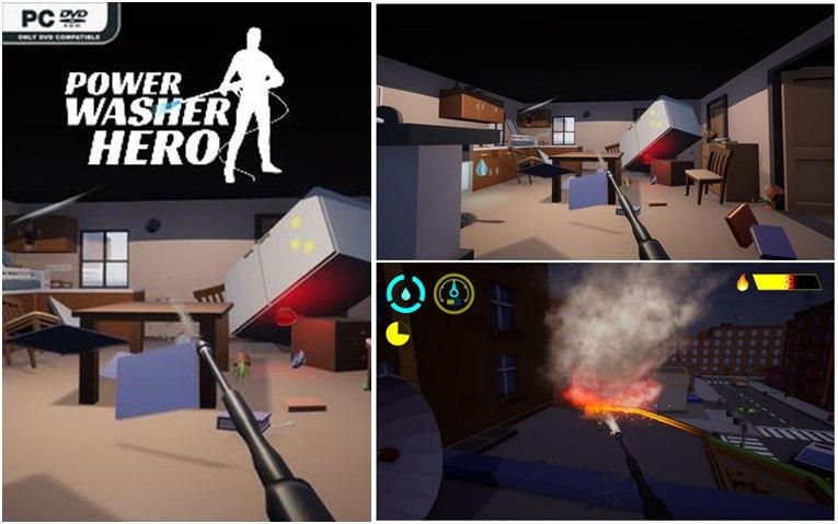 تحميل لعبة Power Washer Hero
