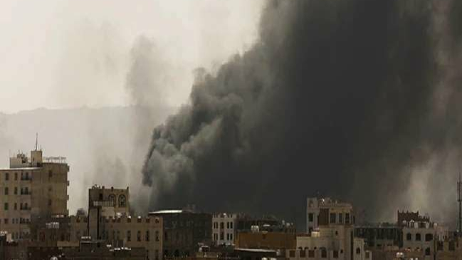 Houthi rebels attack an oil base in Saudi Arabia with drones and missiles