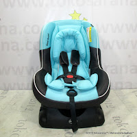 Convertible Baby Car Seat CocoLatte E800 Omni Guard Blue