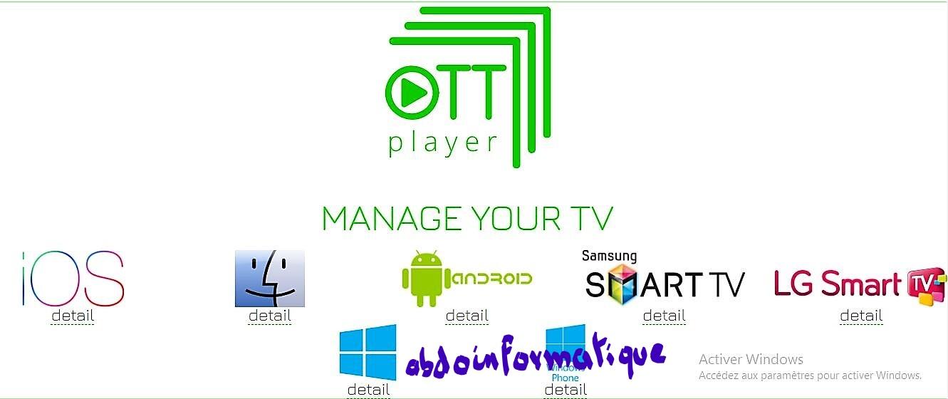 تطبيق OTTPLAYER لتشغيل ملفات IPTV - علوم و تقنية
