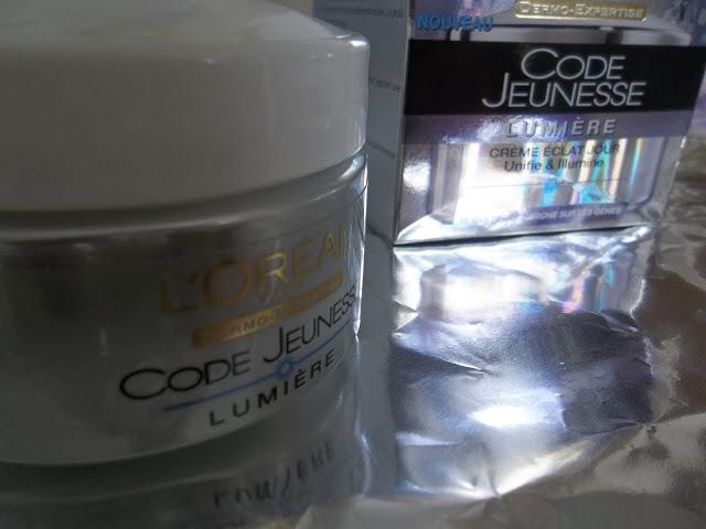 Crème Éclat Jour Code Jeunesse Lumière - L'Oréal