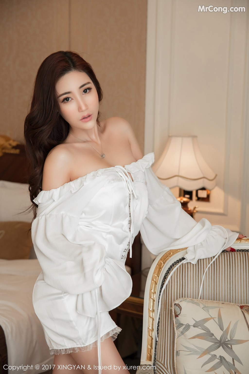 Image XingYan-Vol.001-Sun-Meng-Yao-V-MrCong.com-006 in post XingYan Vol.001: Người mẫu Sun Meng Yao (孙梦瑶V) (49 ảnh)