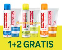 Logo Operazione cashback ''Borotalco The Active Collection'': rimborso di 2 prodotti su 3