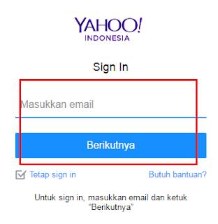 masuk yahoo mail