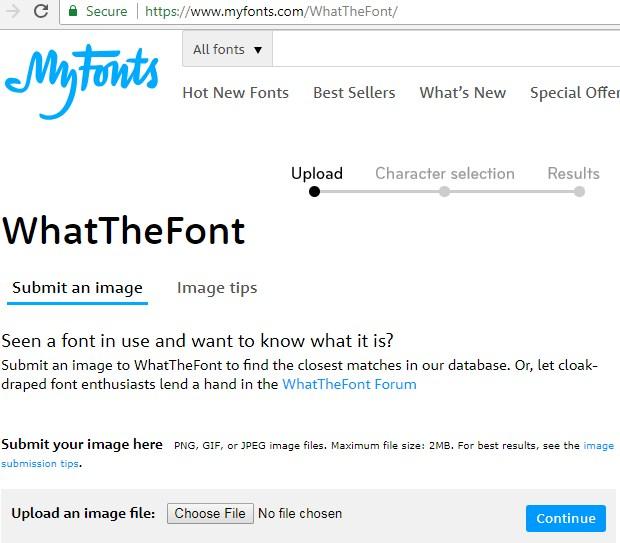 Cara Mengetahui Jenis Font pada Gambar Pakai WhatTheFont Terbaru 2019