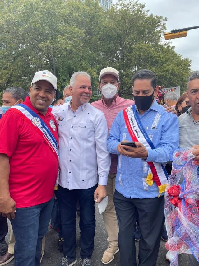 Adriano Espaillat, Rafael Salazar, Eligio Jáquez y José Montás lideran XVIII Desfile Dominicanidad en Newark