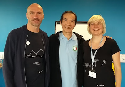 Dr. Paul Lam with Phil & Helen