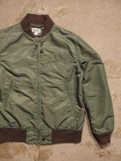 "FWK by Engineered Garments ""Aviator Jacket-Flight Sateen"""