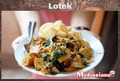 Lotek Khas Sunda