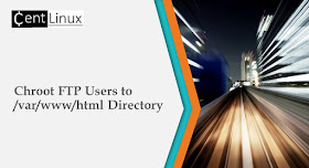 Chroot FTP users to /var/www/html Directory