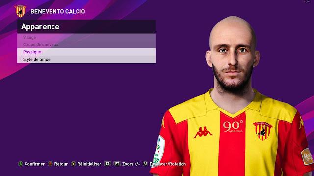 PES 2020 Luca Caldirola Face For PC