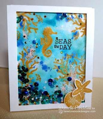 Tranquil Tides | Newtons Nook Designs | Created by Danielle Pandeline